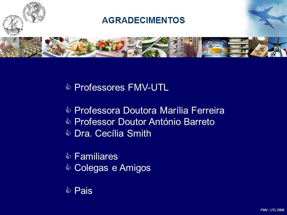 Professora Doutora Marília Ferreira Professor Doutor António Barreto