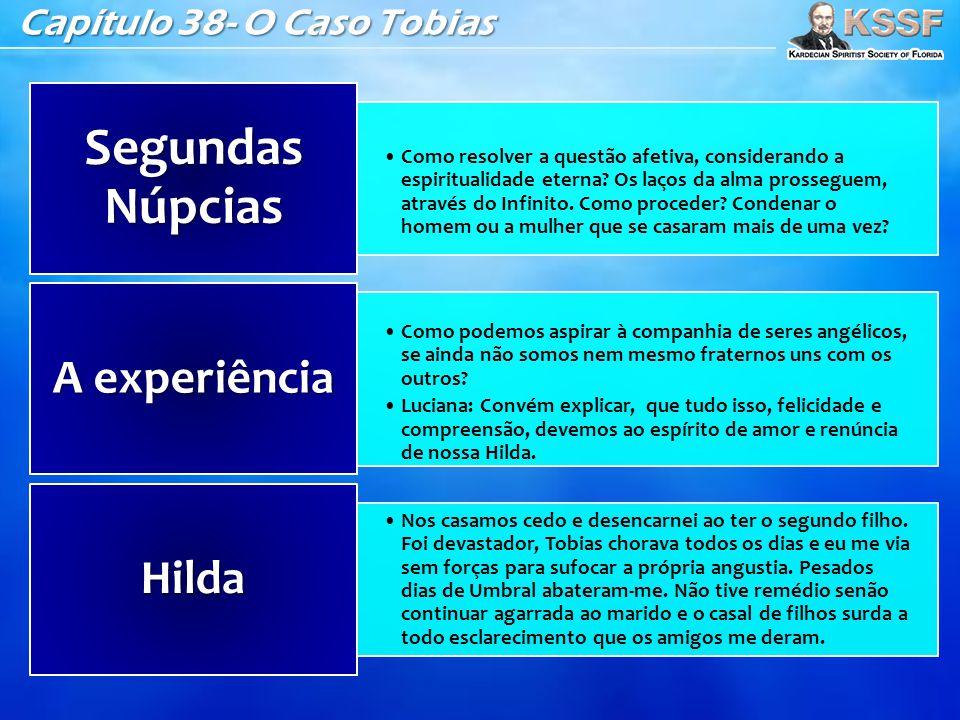 Segundas Núpcias A experiência Hilda Capítulo 38- O Caso Tobias
