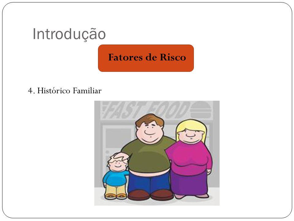 Introdução Fatores de Risco 4. Histórico Familiar