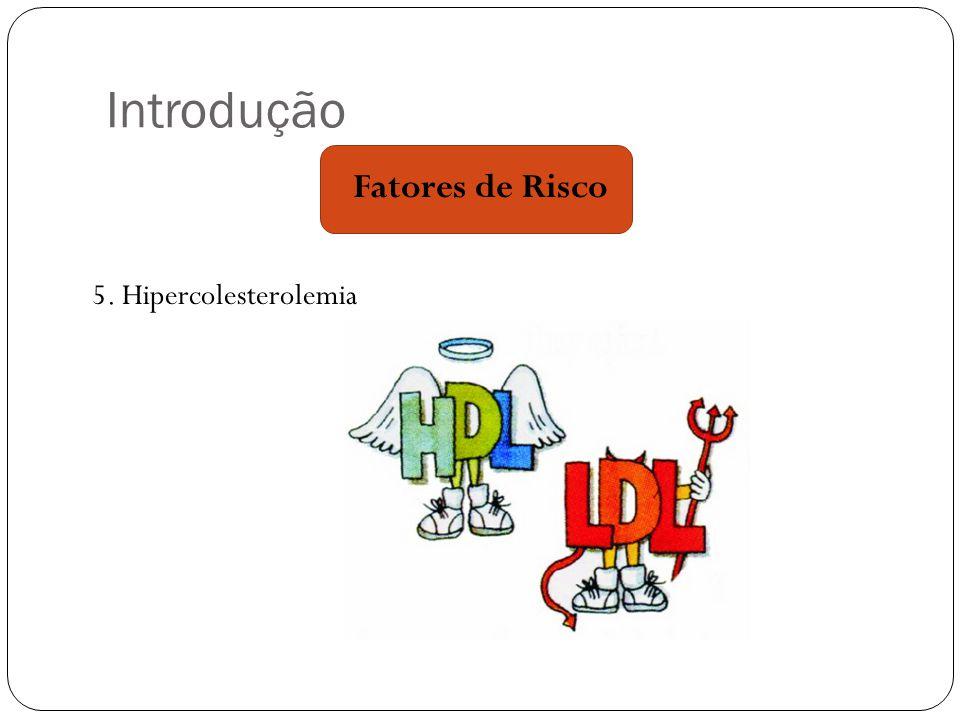 Introdução Fatores de Risco 5. Hipercolesterolemia