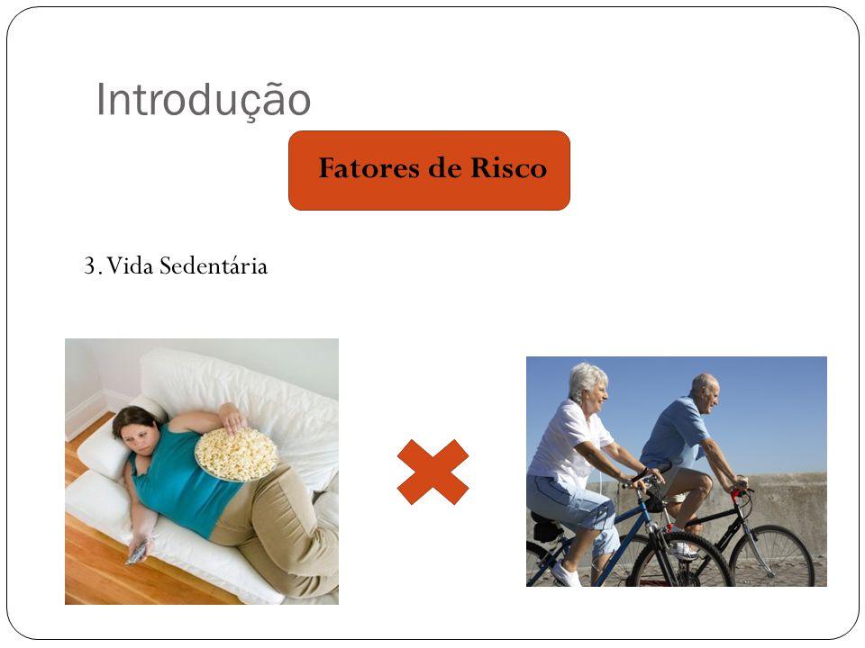 Introdução Fatores de Risco 3. Vida Sedentária