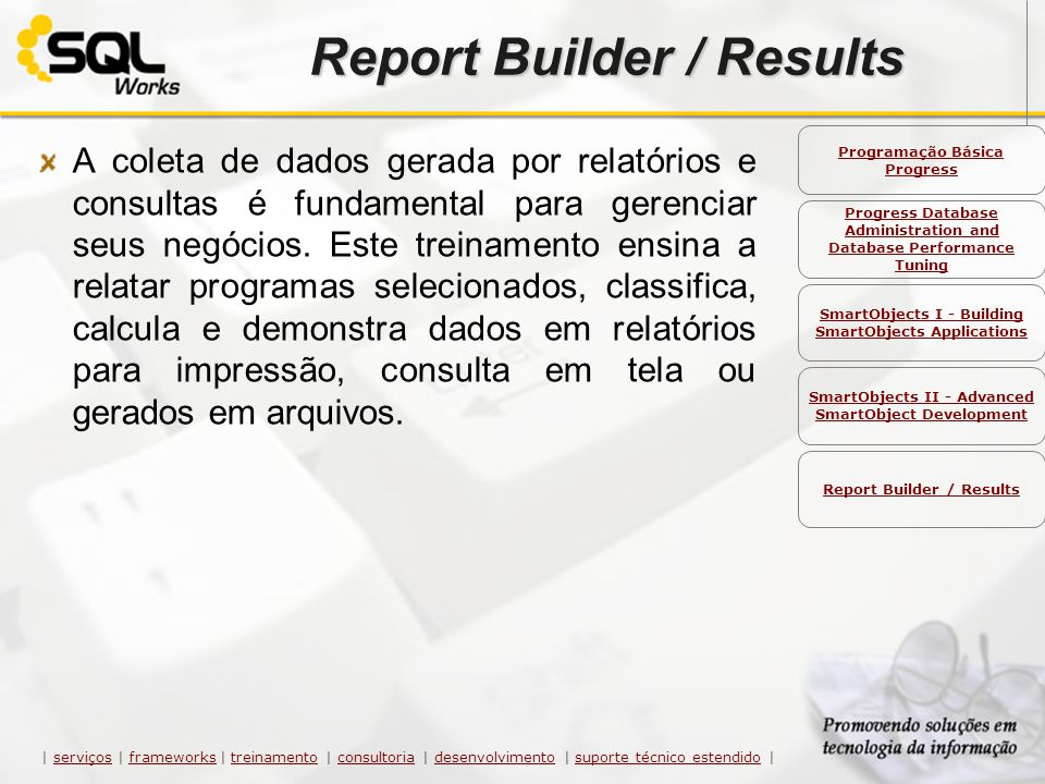 Report Builder / Results