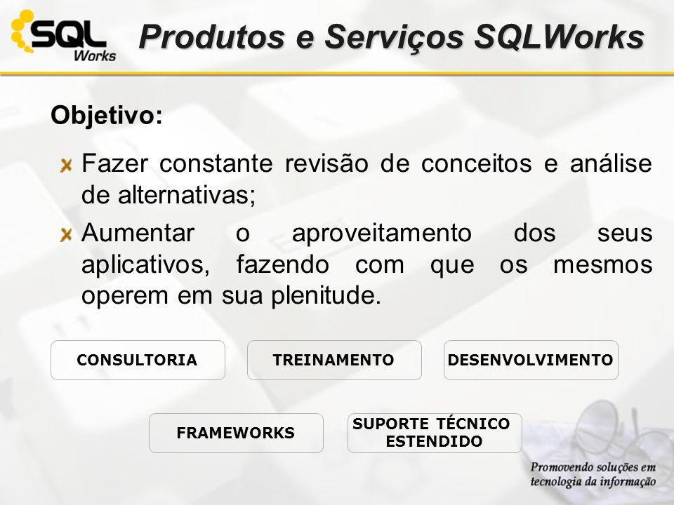 Produtos e Serviços SQLWorks
