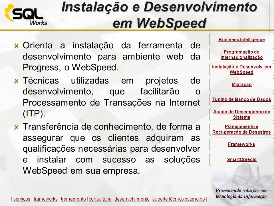 Instalação e Desenvolvimento em WebSpeed