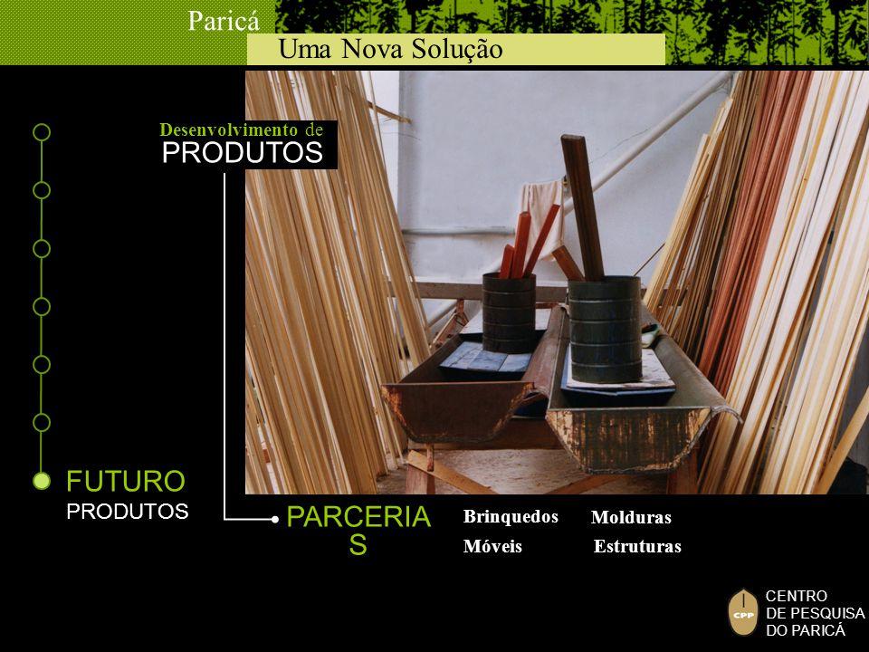 PRODUTOS FUTURO PARCERIAS PRODUTOS Desenvolvimento de Brinquedos