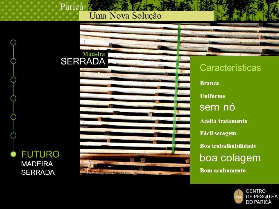sem nó boa colagem SERRADA Características FUTURO MADEIRA SERRADA