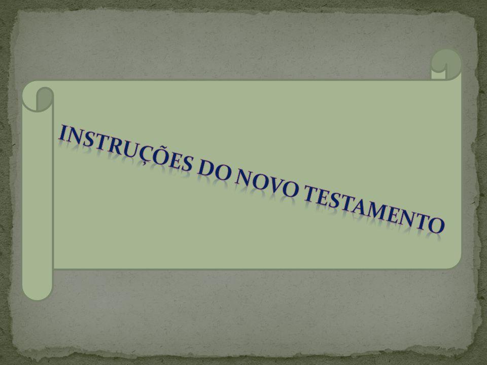 Instruções do novo testamento