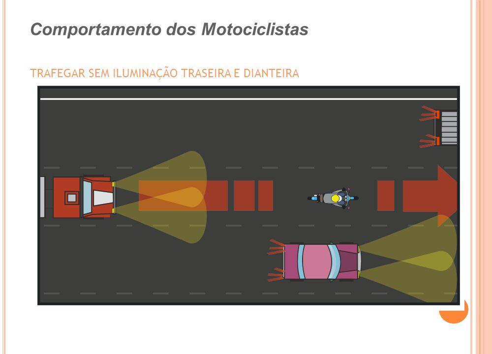 TRAFEGAR SEM ILUMINAÇÃO TRASEIRA E DIANTEIRA