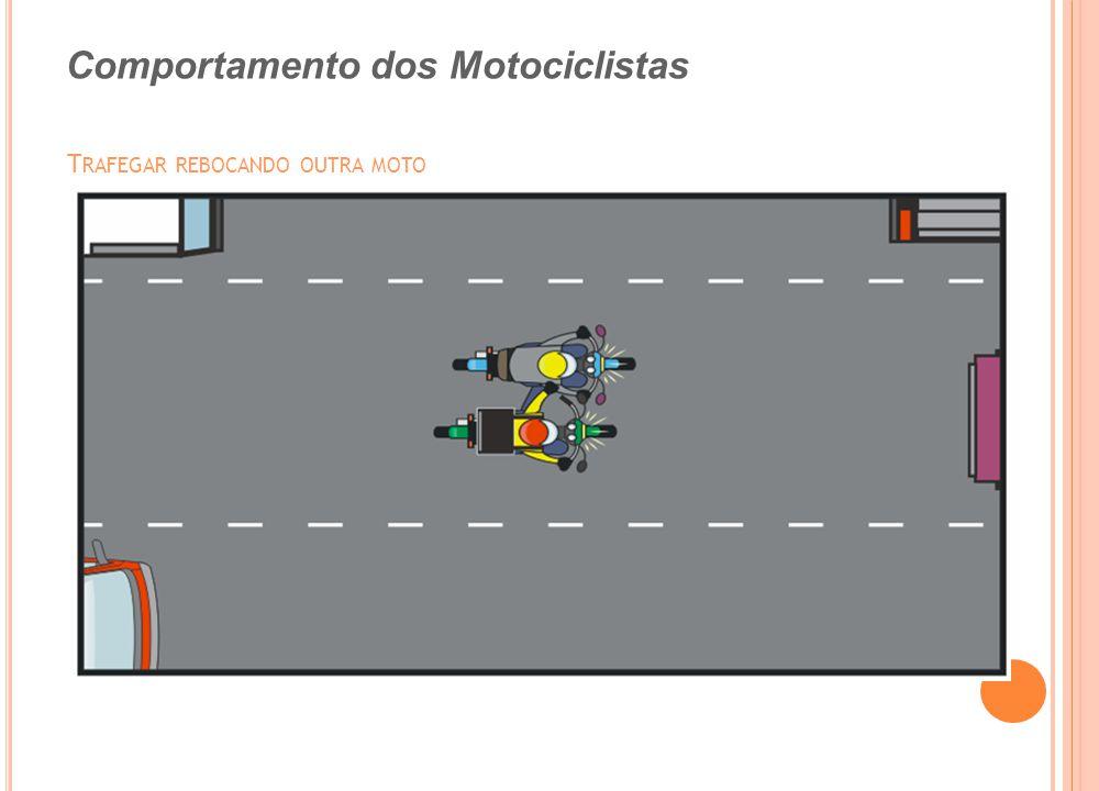 Trafegar rebocando outra moto