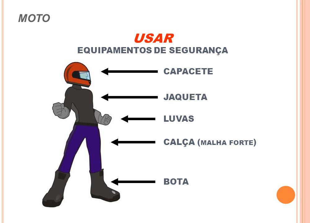 EQUIPAMENTOS DE SEGURANÇA