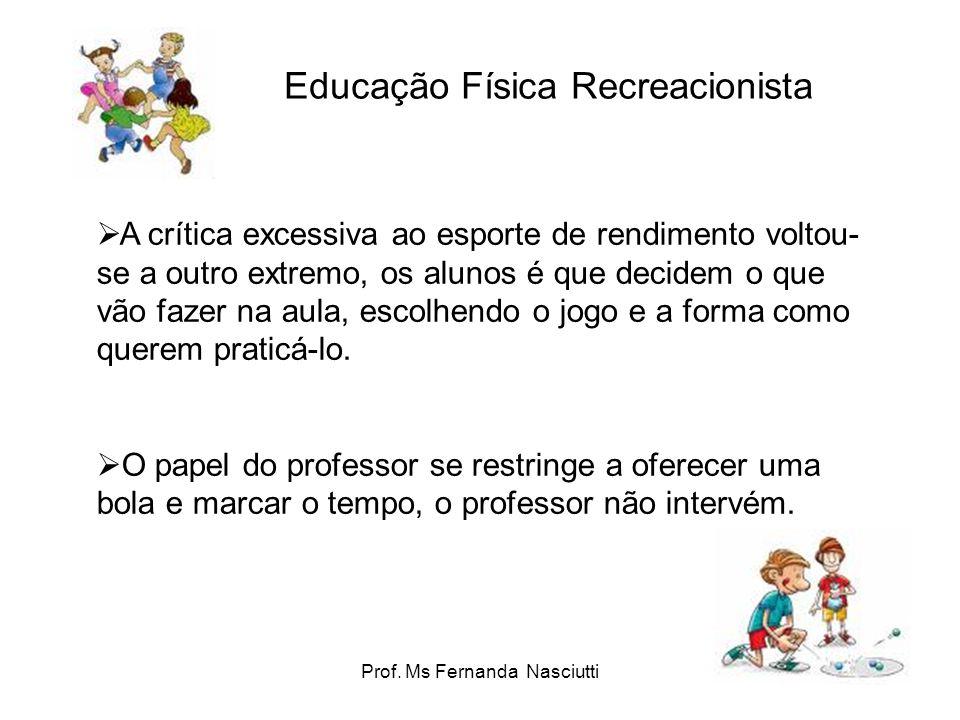 Educação Física Recreacionista