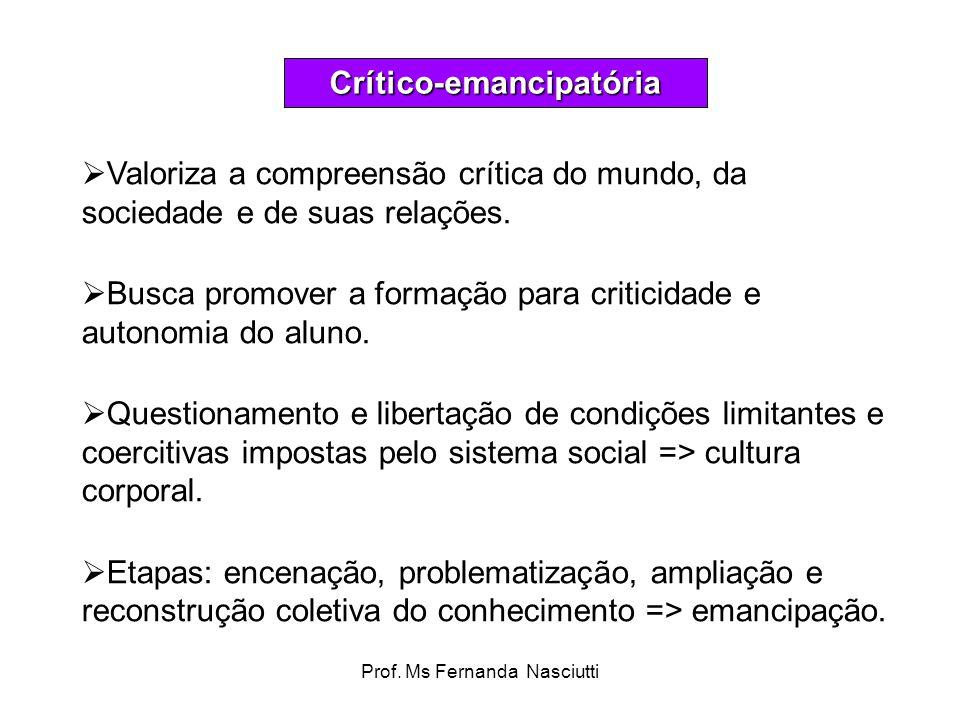 Crítico-emancipatória