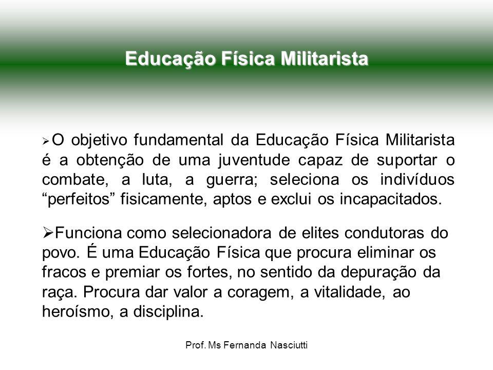 Educação Física Militarista