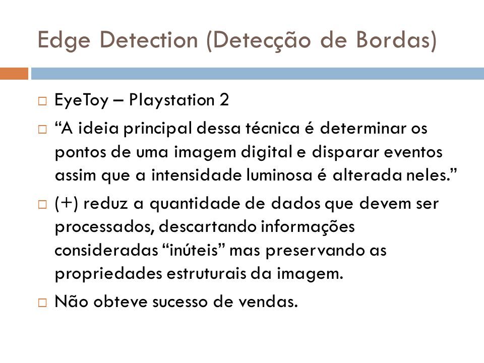 Edge Detection (Detecção de Bordas)