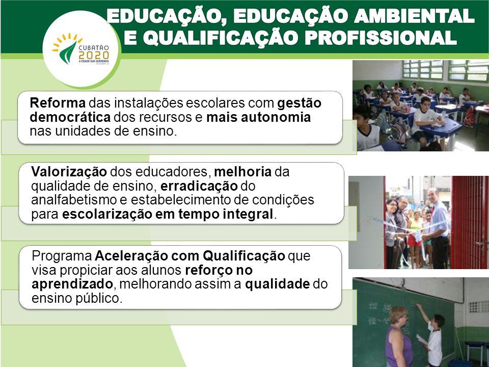 EDUCAÇÃO, EDUCAÇÃO AMBIENTAL E QUALIFICAÇÃO PROFISSIONAL