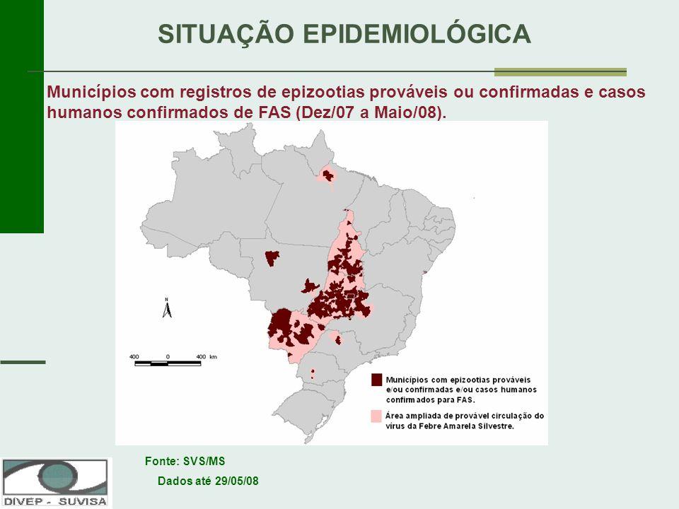 SITUAÇÃO EPIDEMIOLÓGICA