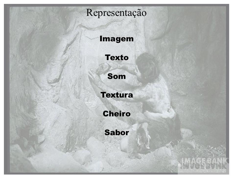 Representação Imagem Texto Som Textura Cheiro Sabor