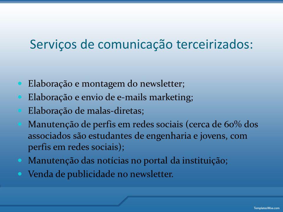 Serviços de comunicação terceirizados:
