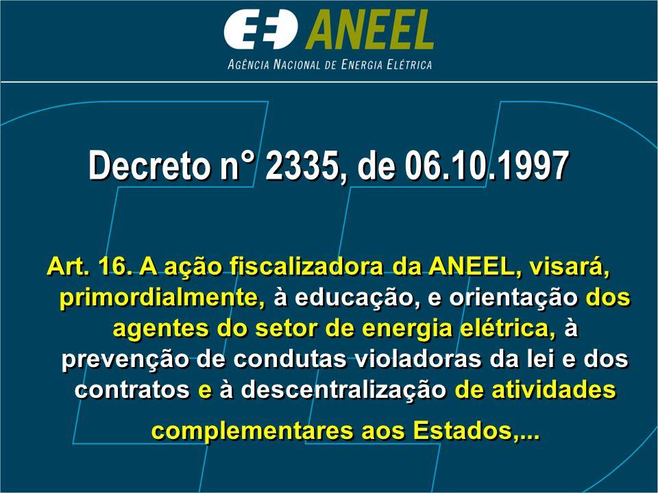 Decreto n° 2335, de 06.10.1997