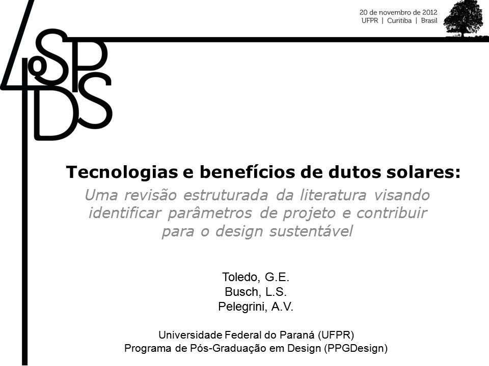 Tecnologias e benefícios de dutos solares: