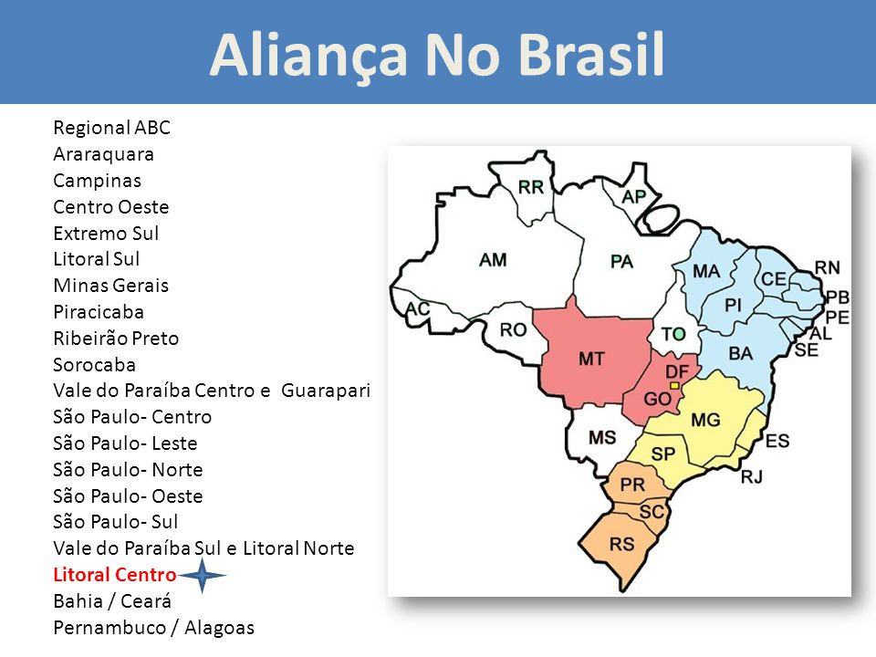 Aliança No Brasil Regional ABC Araraquara Campinas Centro Oeste