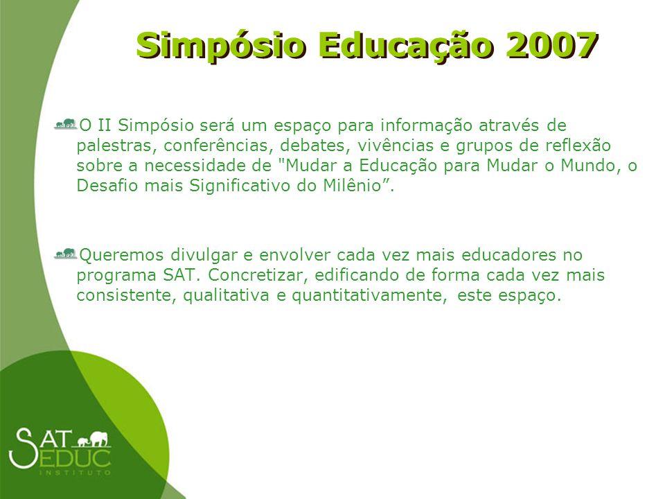 Simpósio Educação 2007