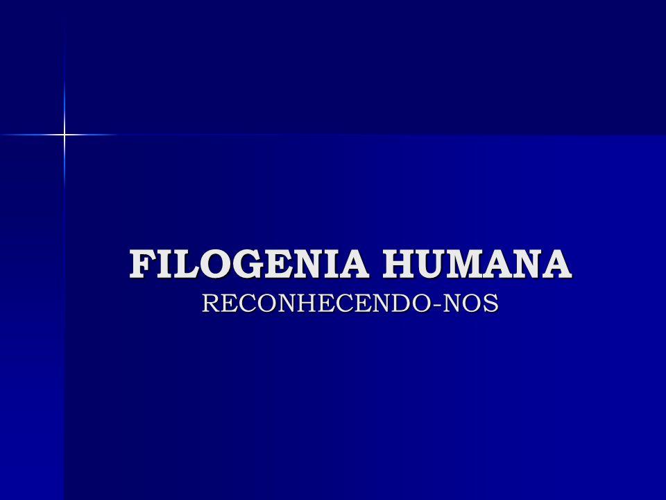 FILOGENIA HUMANA RECONHECENDO-NOS