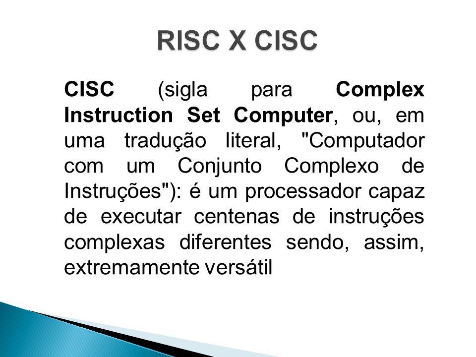 RISC X CISC