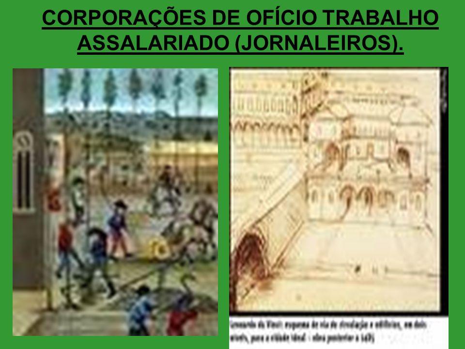 CORPORAÇÕES DE OFÍCIO TRABALHO ASSALARIADO (JORNALEIROS).
