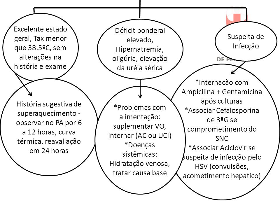 *Internação com Ampicilina + Gentamicina após culturas