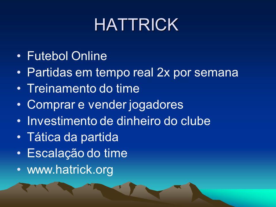 HATTRICK Futebol Online Partidas em tempo real 2x por semana