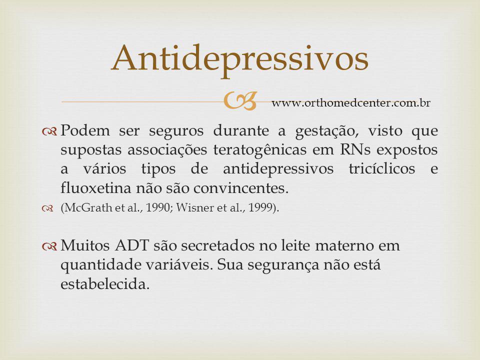 Antidepressivos www.orthomedcenter.com.br.