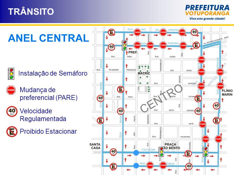Instalação de Semáforo
