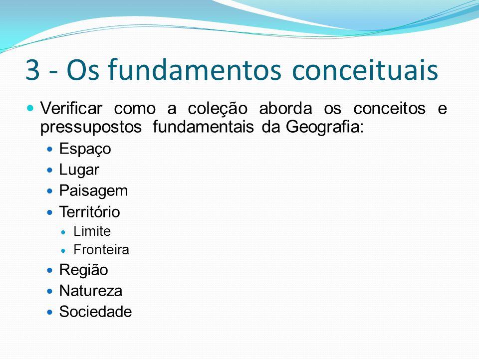 3 - Os fundamentos conceituais