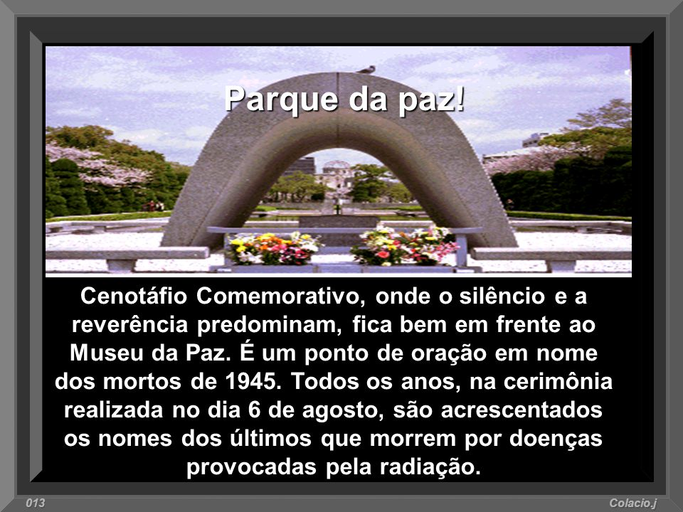 Parque da paz!