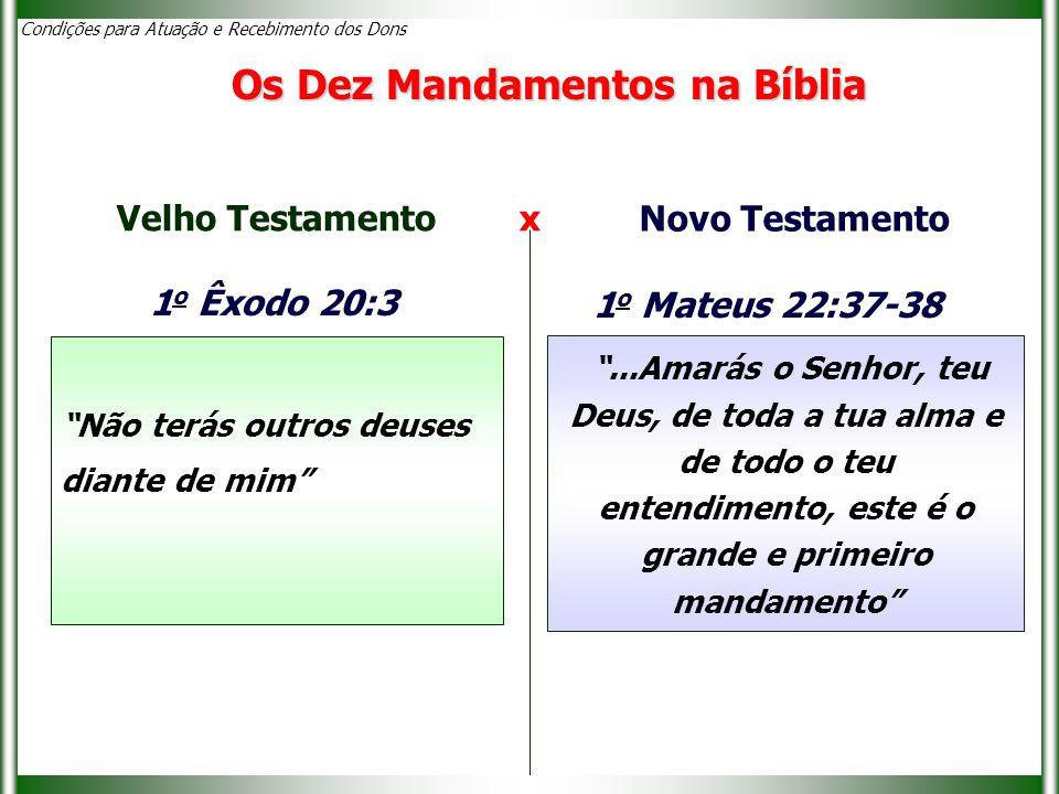 Os Dez Mandamentos na Bíblia