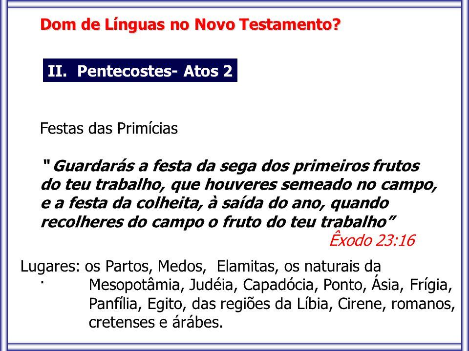 Dom de Línguas no Novo Testamento