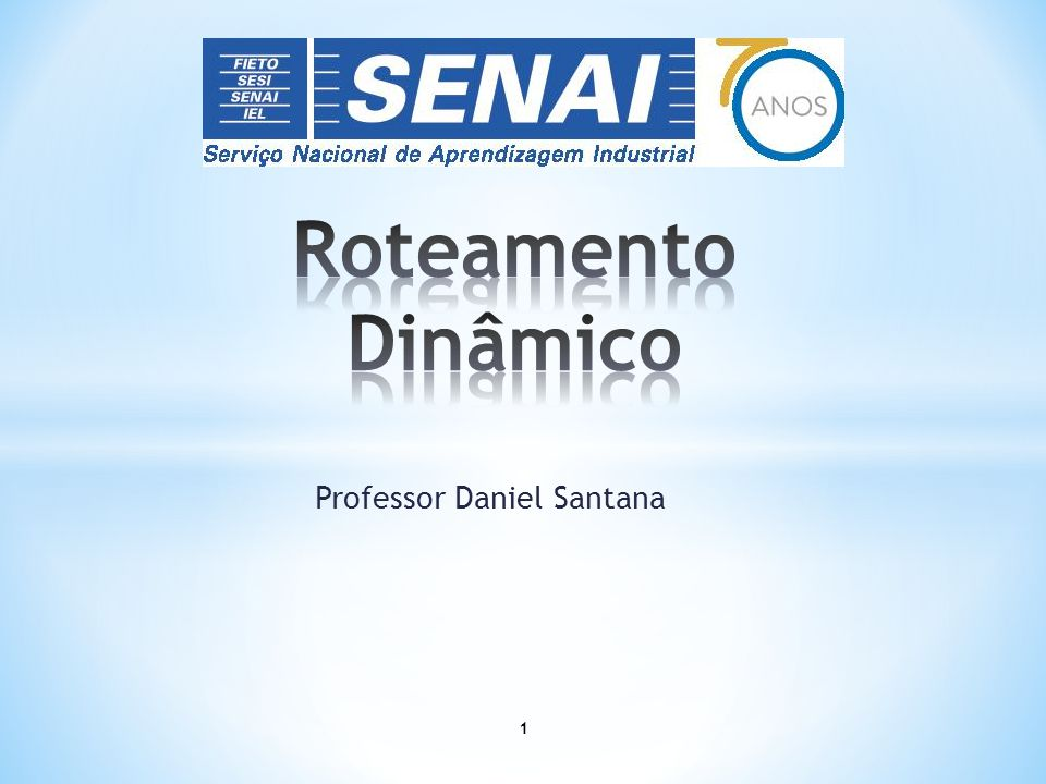 Professor Daniel Santana