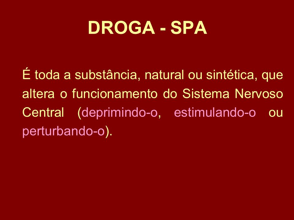 DROGA - SPA