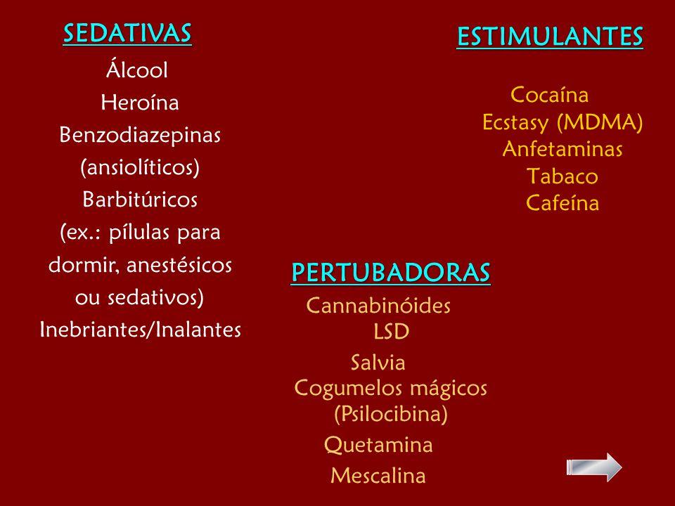 SEDATIVAS ESTIMULANTES