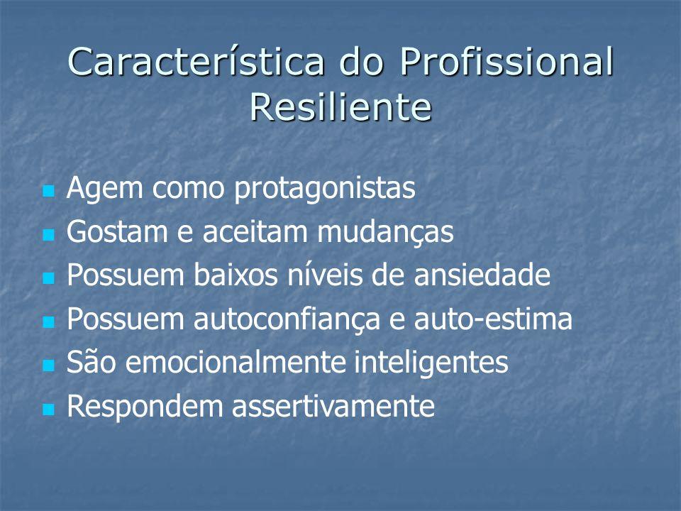 Característica do Profissional Resiliente