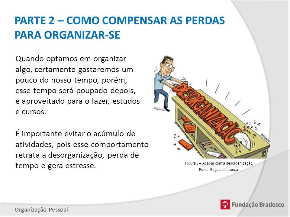 PARTE 2 – COMO COMPENSAR AS PERDAS PARA ORGANIZAR-SE