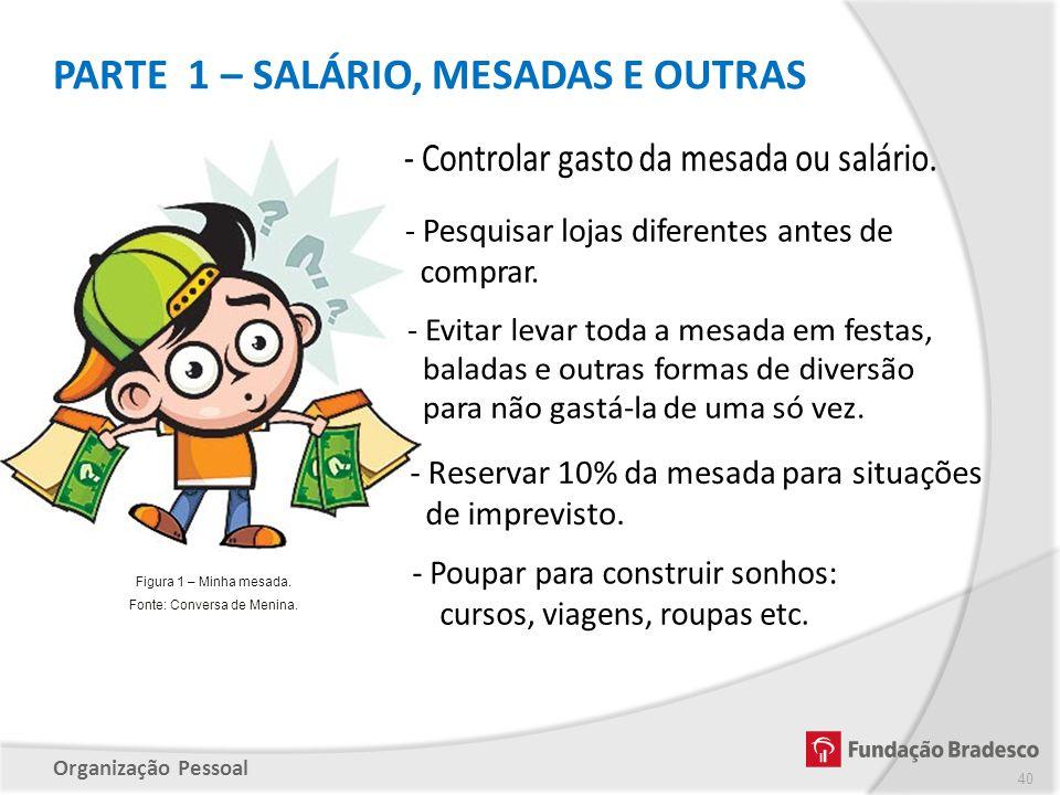 PARTE 1 – SALÁRIO, MESADAS E OUTRAS