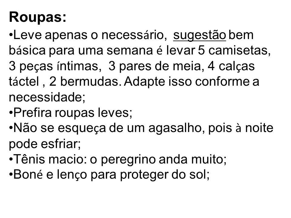 Roupas: