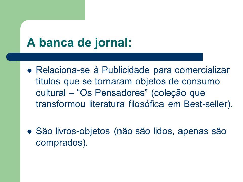 A banca de jornal: