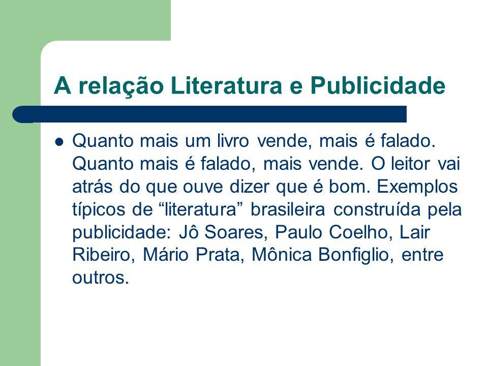 A relação Literatura e Publicidade