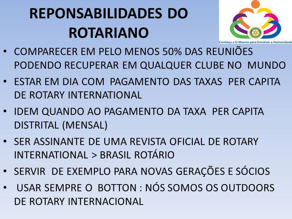 REPONSABILIDADES DO ROTARIANO