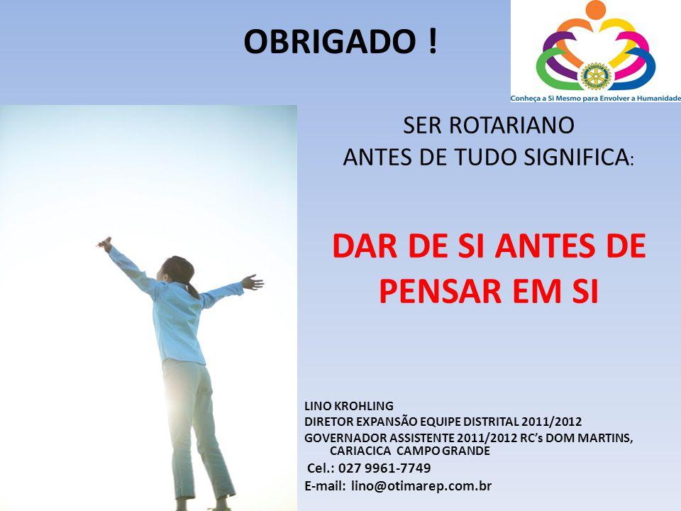 ANTES DE TUDO SIGNIFICA:
