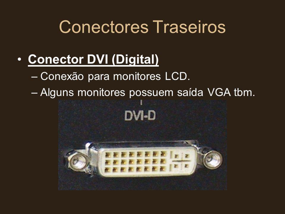 Conectores Traseiros Conector DVI (Digital)
