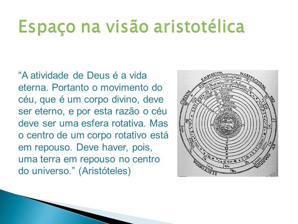 Espaço na visão aristotélica